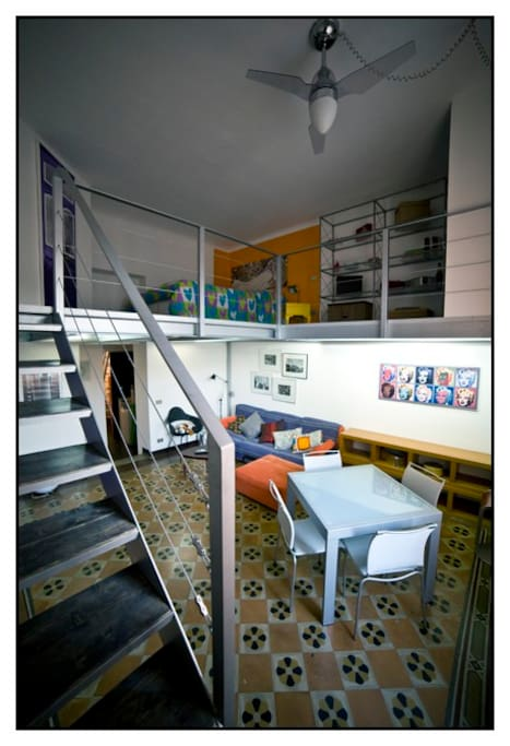 Living and double bedroom