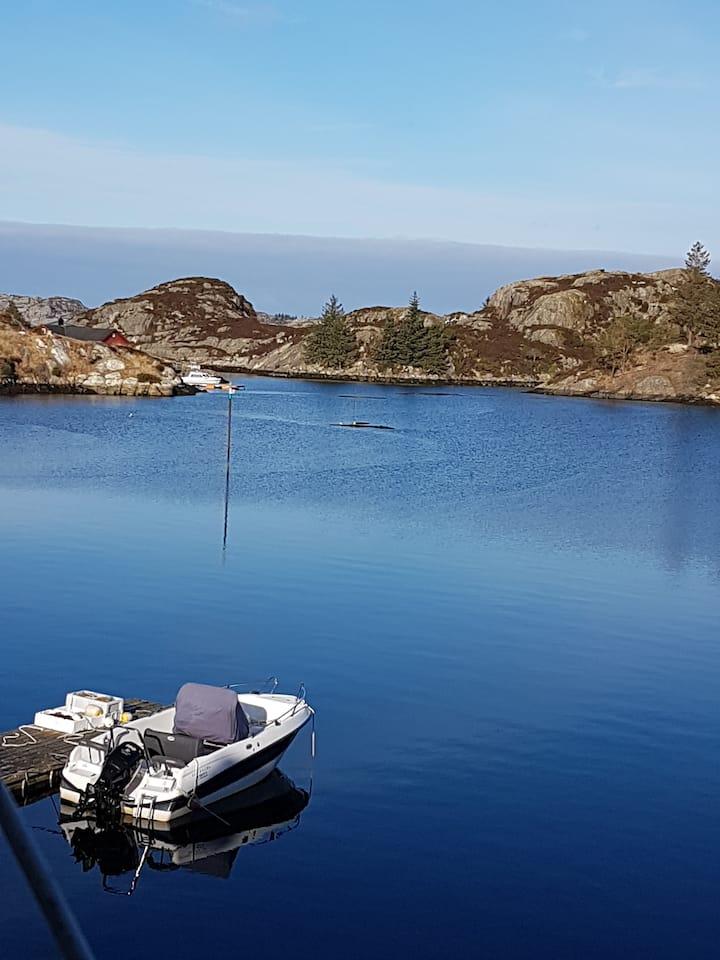 Austevoll Sea and Fishinghouse 2 km fra Bekkjarvik