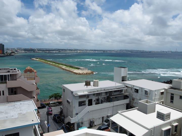 Ocean front in Chatan, Okinawa