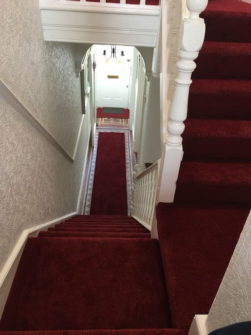 To welcome you into our home We try our best to give you the red carpet treatment