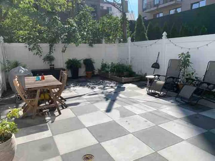 Modern Condo with Private Yard in Park Slope