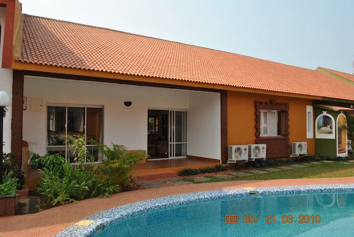 Villa6 In Ginger Tree Resort,Anjuna - Anjuna - House