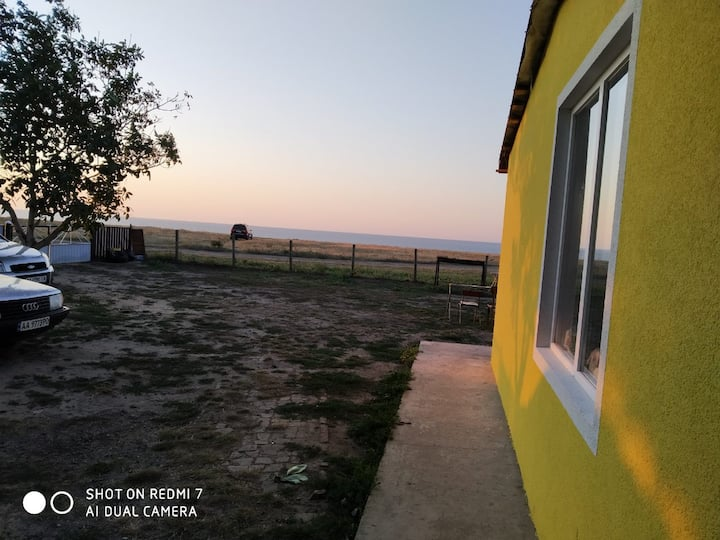 Дом с прекрасным видом на море в селе Курортное
