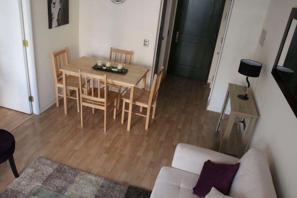 Wood floors across all areas