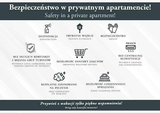 WAWEL CASTLE 1-bedroom Apart. RIVERVIEW