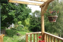 The veranda.