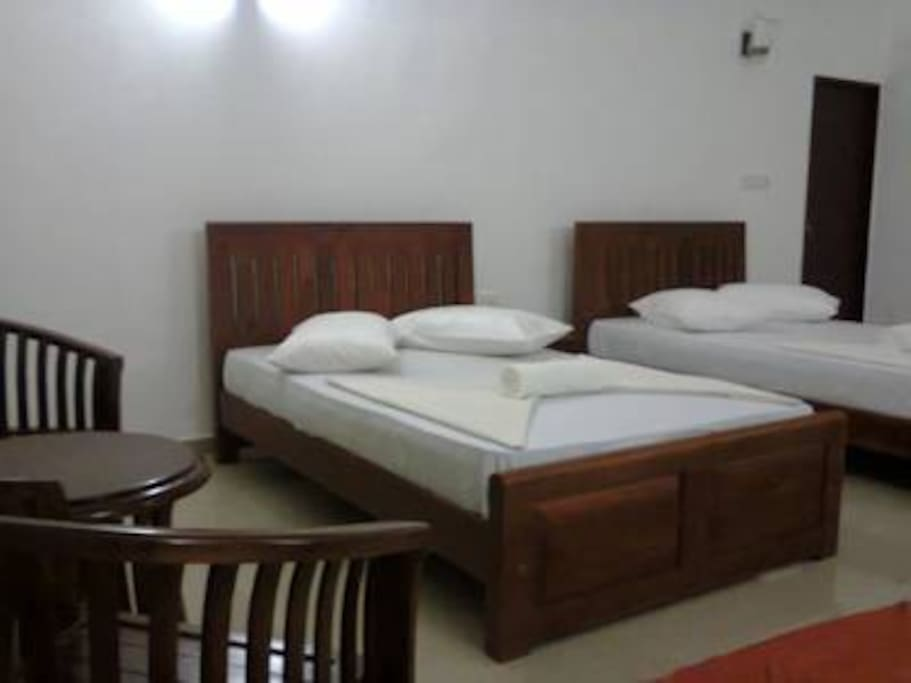 4 Twin luxury rooms