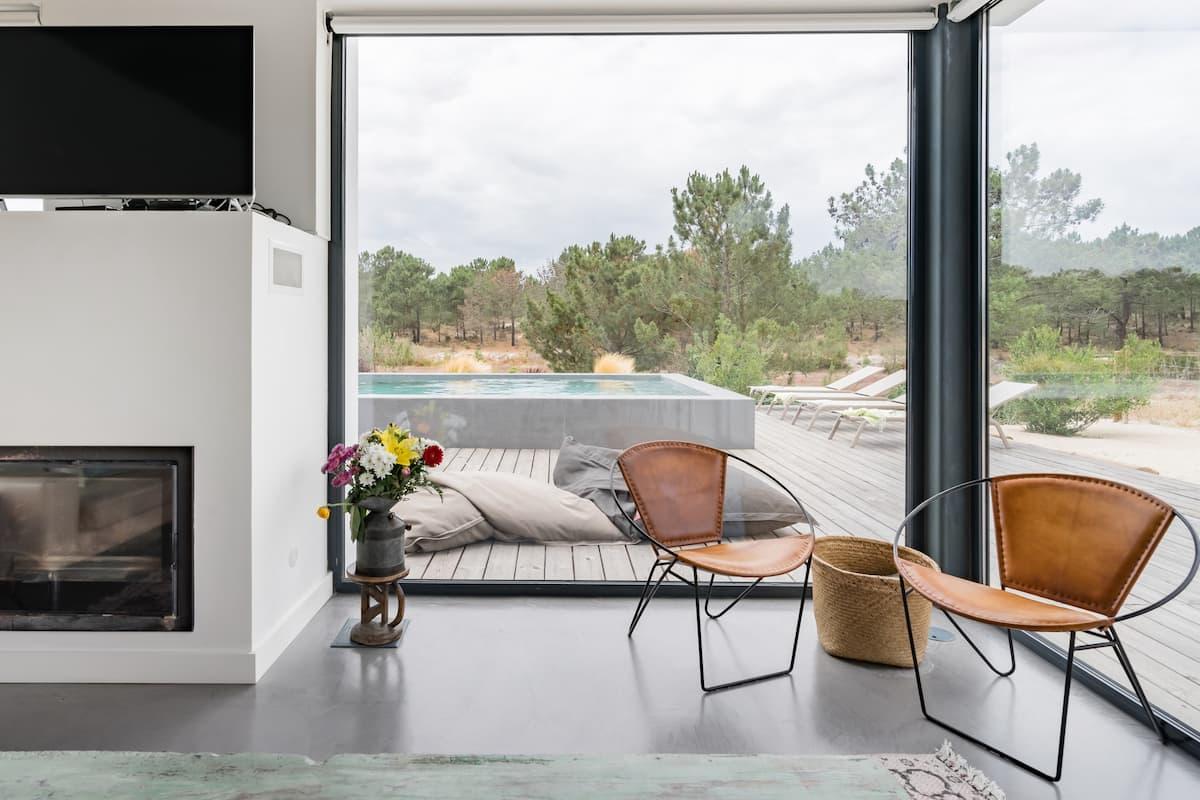 Casa Parus, Stylish Villa With a Pool in Comporta