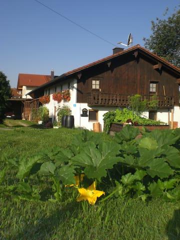 Almhüttenflair in urigem Bauernhaus - Taufkirchen - Huis