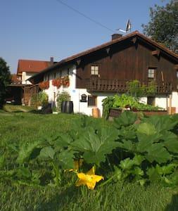 Almhüttenflair in urigem Bauernhaus - Taufkirchen