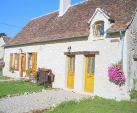 B&B in Traditional stone cottage - Azay-le-Ferron - Bed & Breakfast