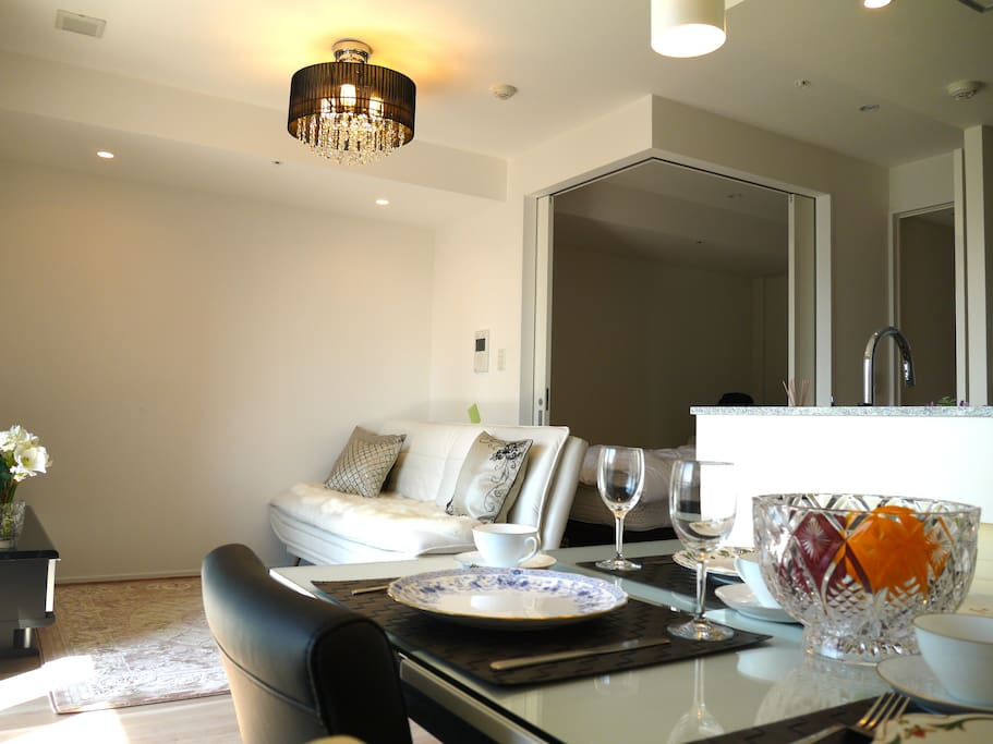 Luxury and new apartment.
