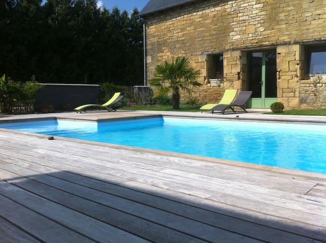 Maison de vacances Albizzia, piscine chauffée 2/4p