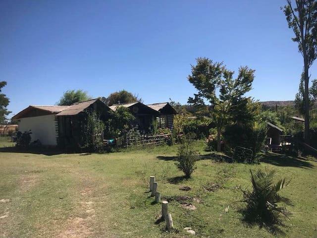 Casa de campo en Rapel, El Manzano