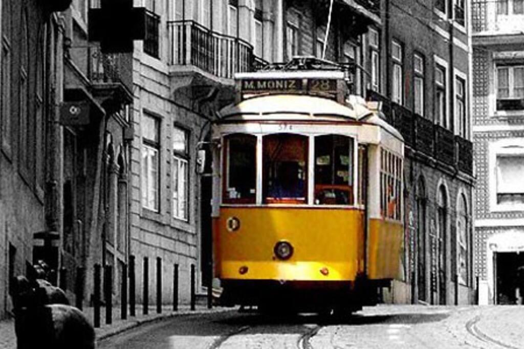 Baixa da cidade de Lisboa