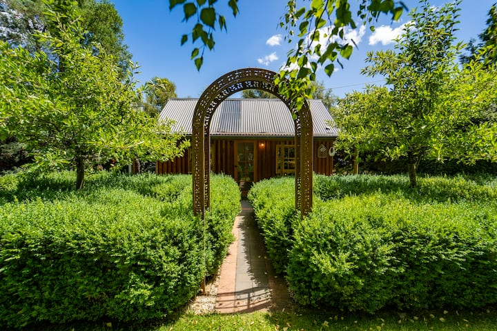 The Tiny cottage in the Award-Winning Gardens