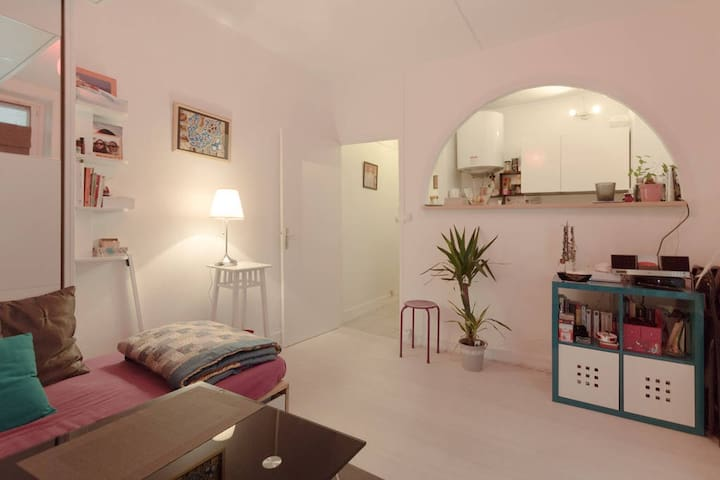 Charmant studio au coeur de Paris - Paris-18E-Arrondissement - Apartment