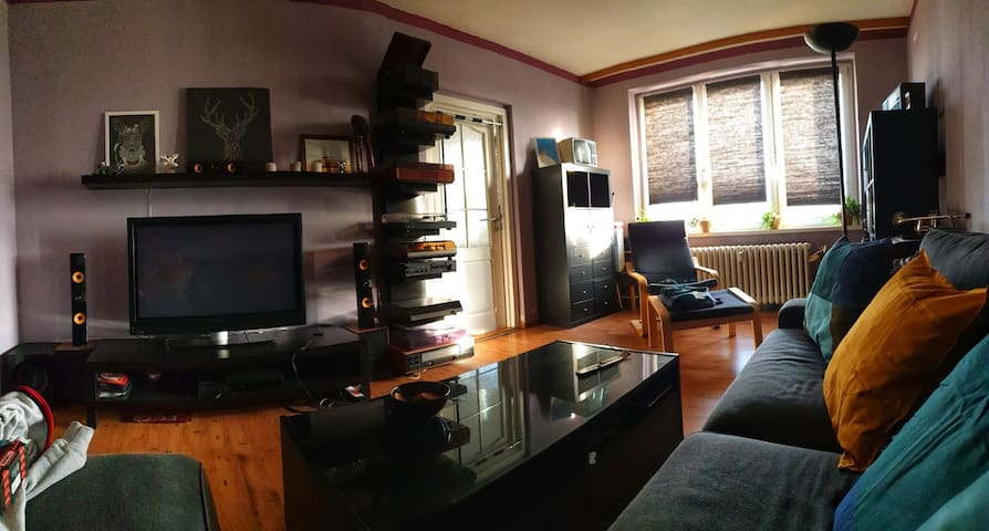 Flat of the rising Sun & LP´s, 73 sqm