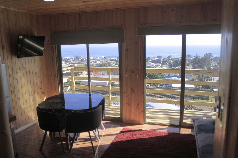 CABAÑAS SHADAY  Vista privilegiada, cabañas independientes, ambiente tranquilo. Ideal para un buen descanso.