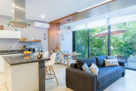 Luxus-VillaB11 zwischen Dschungel und Karibischem Meer