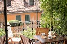 San Giacomo avec jardin et terrasse
