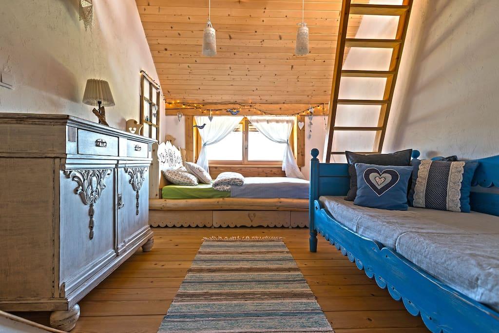 Pokój Kozi Wypas dla 5 osób w Chalet Inspired by Nature