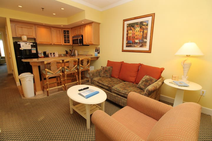 Get To The Point at the Villas of Hatteras Landing 123 One Bedroom Condo
