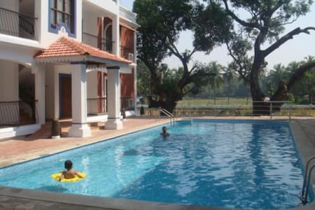 The Nest 2BHK (AC Beds) Siolim Goa - Siolim