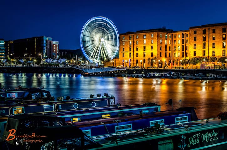 L1 City Centre Ropewalks Flat - Liverpool - Lakás