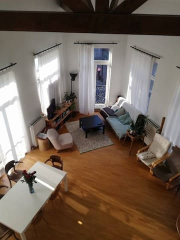 Luminous and cosy private room in city center - Bruxelles - Daire