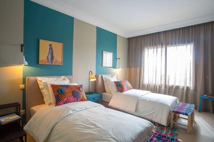 Riad Villa en famille ou entre amis - Marrakesh - Appartamento con trattamento alberghiero