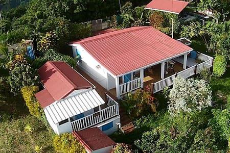 Villa Colibris avec vue magnifique Nord caraibe - Le Morne-Vert