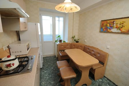 Comfortable apartment on Podil, central Kyiv - Apartment
