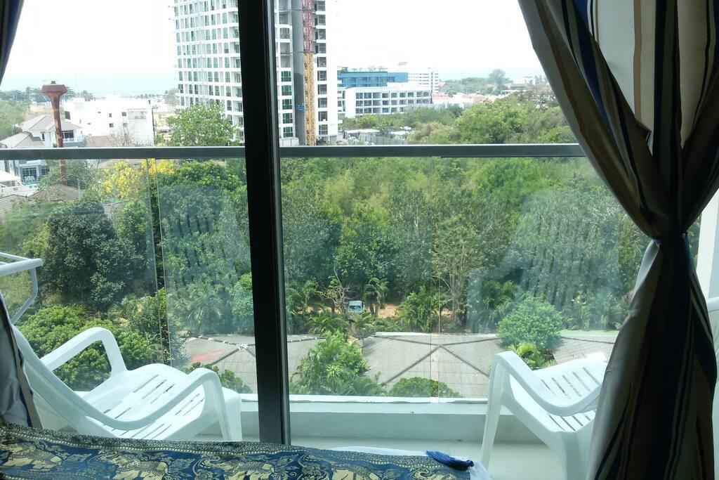 Балкон с видом  8ойэтаж