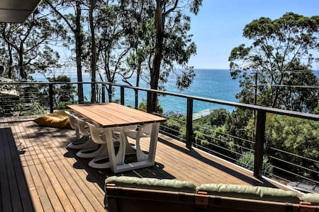 60's beach house with amazing view - Kennett River - Haus