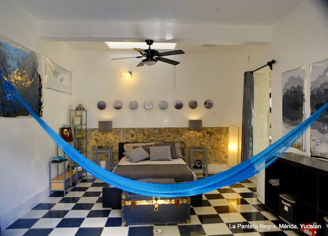 B&B La Pantera Negra black & White - Merida - Bed & Breakfast
