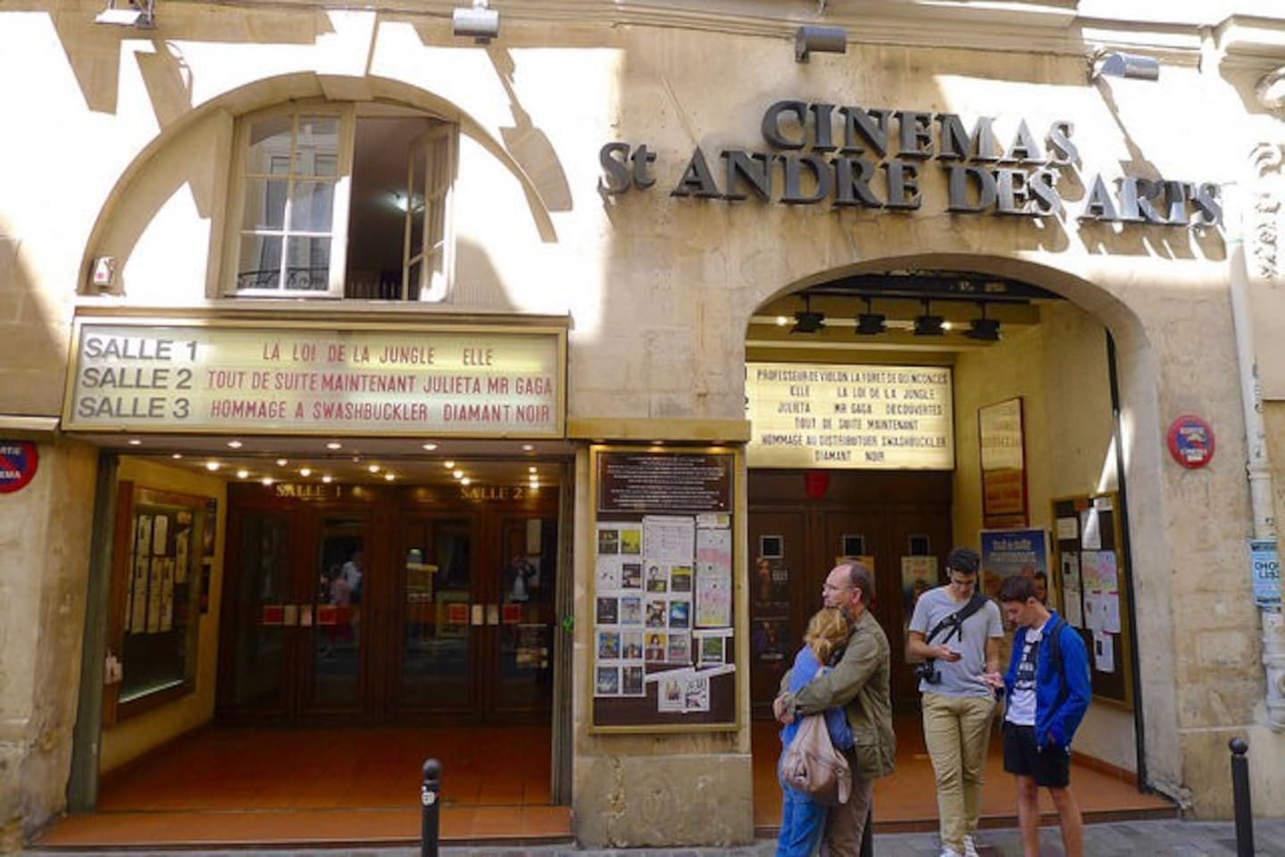 If you're looking for culture, this is where you'll find two of the most revered arthouse cinemas in town – the Christine 21& the St André des Arts (three screens)