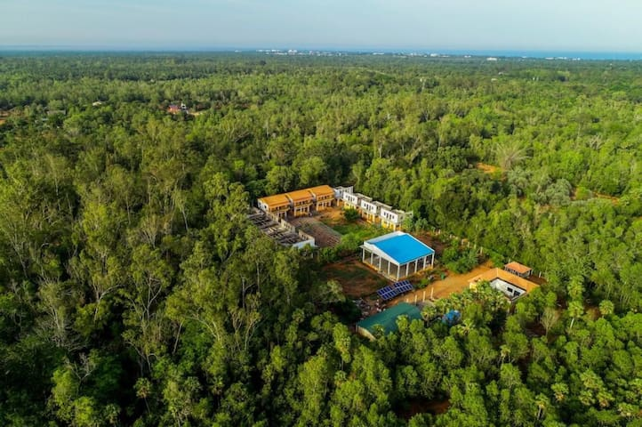 Stay @ Nature     Near Auroville Globe