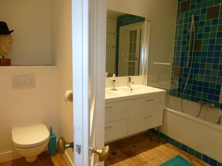 La salle de bains du petit moulin