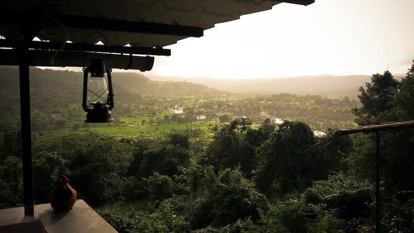 View of the Valley from the dining space