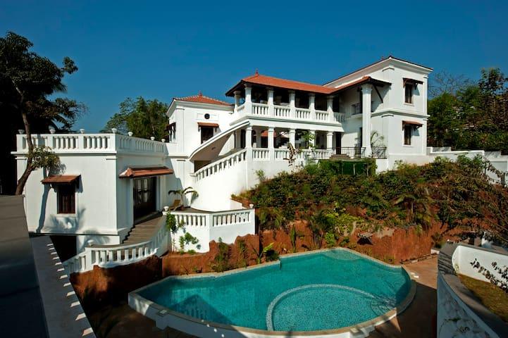 Beautiful 3BD Goan Villa | Pool and Butler Service