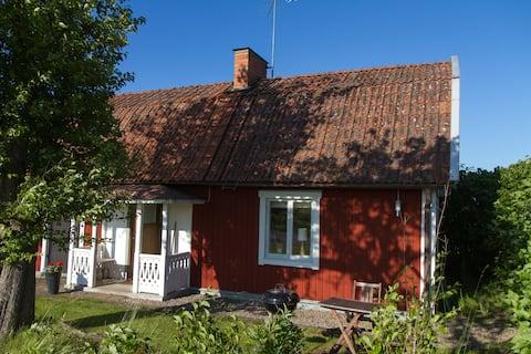 Hyggelig hytte -land Linköping