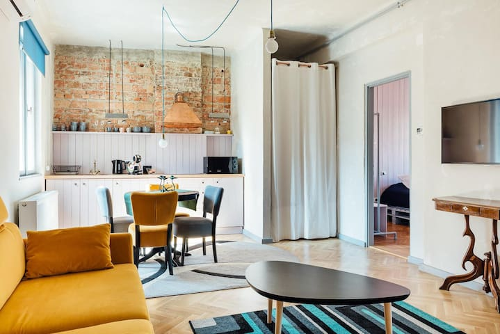 Bohemian Apartment| contemporary| old city centre