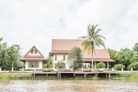 Tharnrarin Villa Tha-Chin Riverside - เดิมบางนางบวช