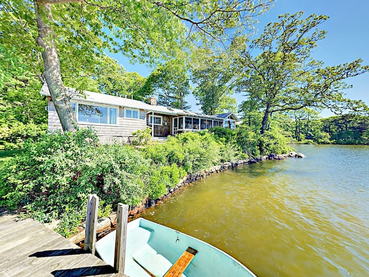 Classic Summer Home with Dock & Boat Fleet
