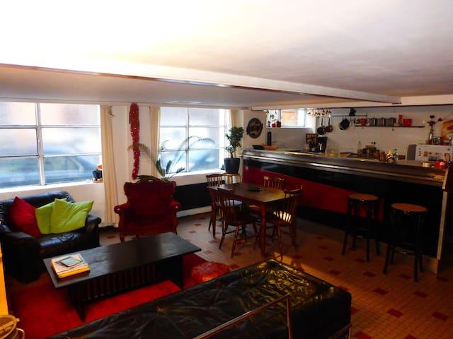 Appartement canut atypique - plateau Croix Rousse