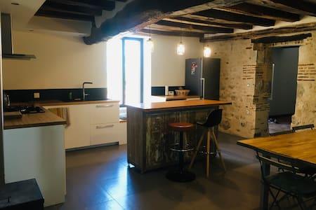 Charmante maison rénovée proche Loire