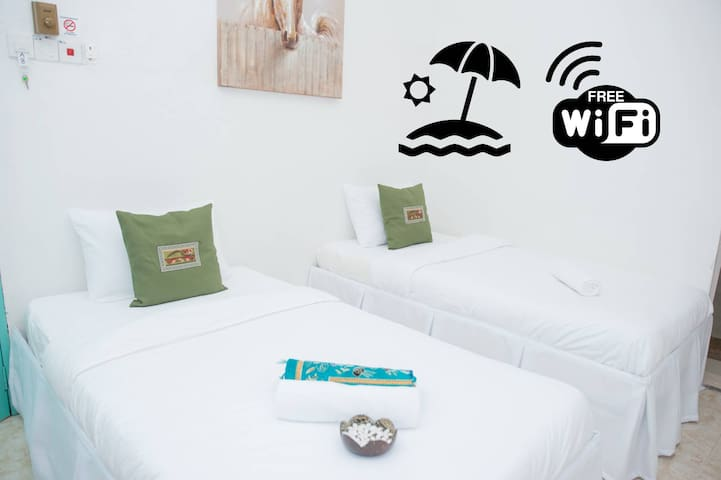 Ibai Beach Guesthouse-TWIN DELUXE B6