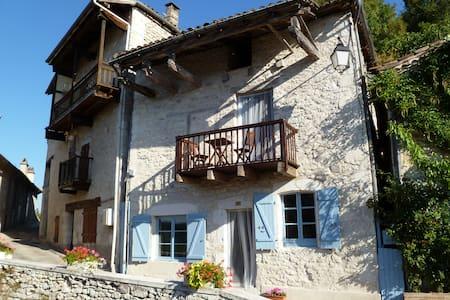 Numero Treize - Lovely White Quercy Stone Cottage - Montaigu-de-Quercy - Haus
