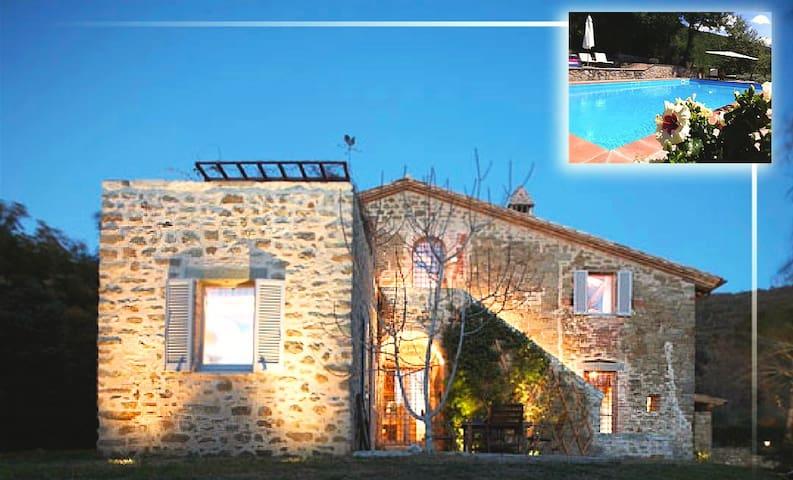 Villa Primaluce Trasimeno lake view closed Tuscany - Passignano sul Tradimeno - Villa